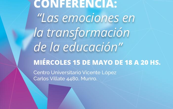 """#Conferencia ► """"Las emociones en la transformación de la educación"""""""
