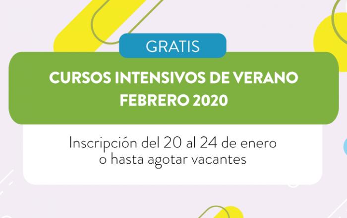 [ CURSÁ EN #VERANO ]  ► CENTRO UNIVERSITARIO VICENTE LÓPEZ