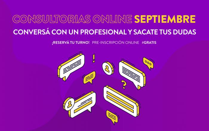 #Consultorías ► [ SEPTIEMBRE ]