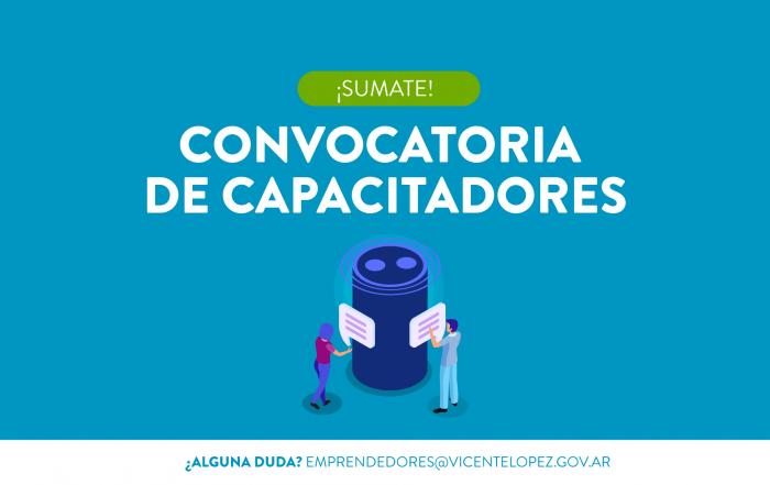 #Convocatoria ► ¡Inscribite como capacitador de Emprendedores VL!