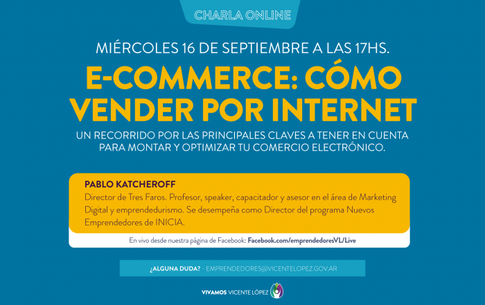 #VIVO ► E-Commerce: cómo vender por Internet