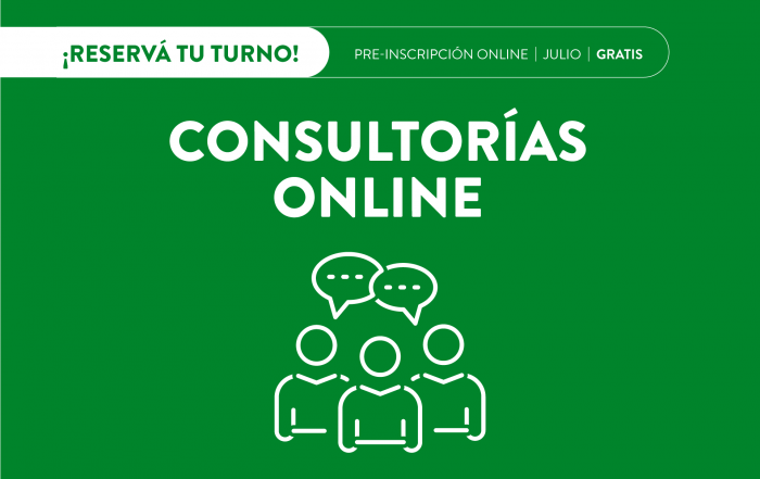 #Consultorías >> JULIO