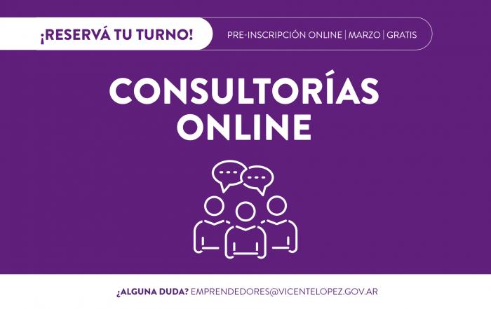 #Consultorías >> MARZO