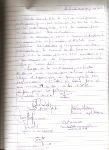 Acta nro 3