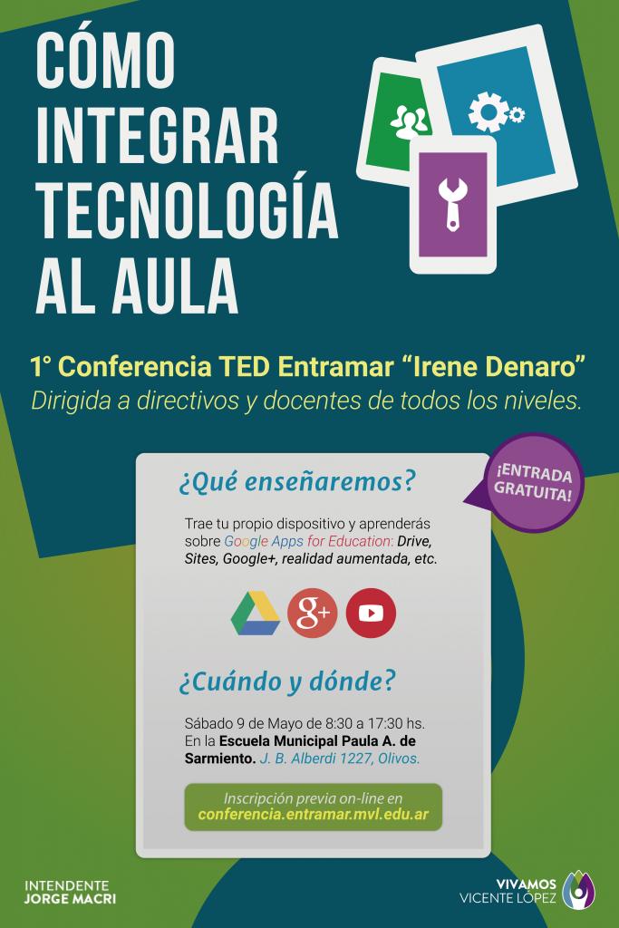 Afiche conferencia TED Irene Denaro (1)