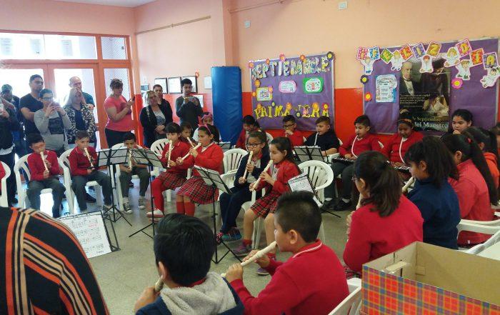 Concierto de Primavera en la Escuela Primaria Municipal Manuel Dorrego