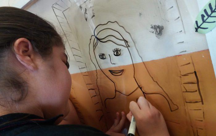 Muestra de Arte en la Escuela Primaria Municipal Dorrego