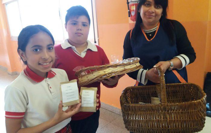 Leyenda de la yerba mate en la Escuela Primaria Municipal Manuel Dorrego