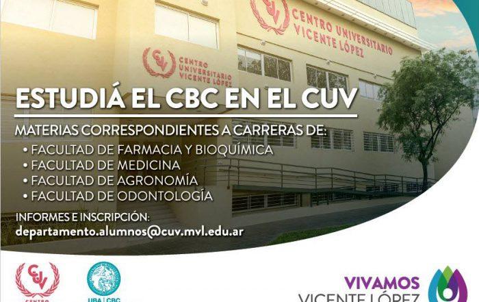 Inscripción al 2do. cuatrimestre del CBC en el Centro Universitario