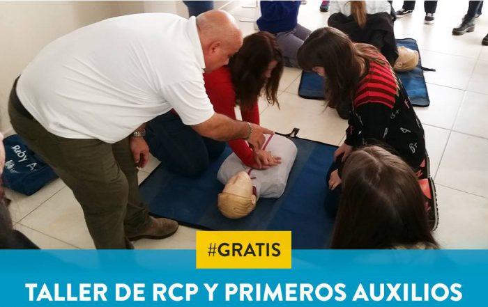 #Taller de RCP y Primeros Auxilios