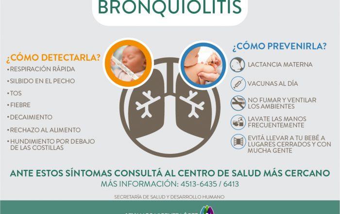 ¡Prevengamos la Bronquiolitis!