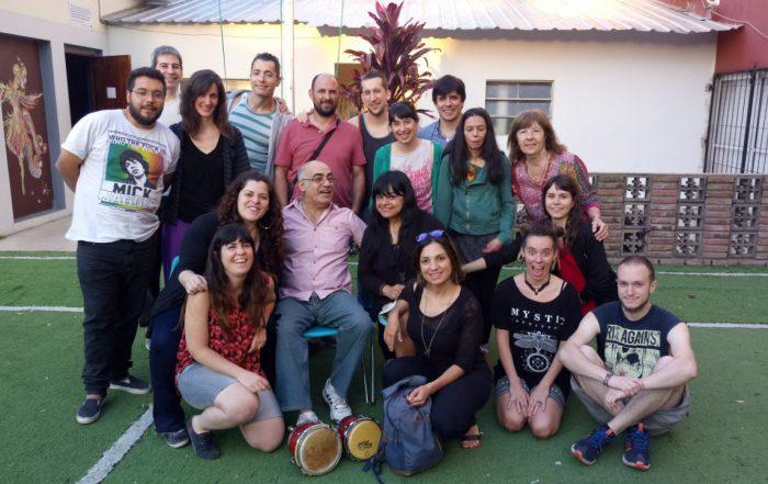 Alumnos de Percusión-Prof. Miguel Tallo