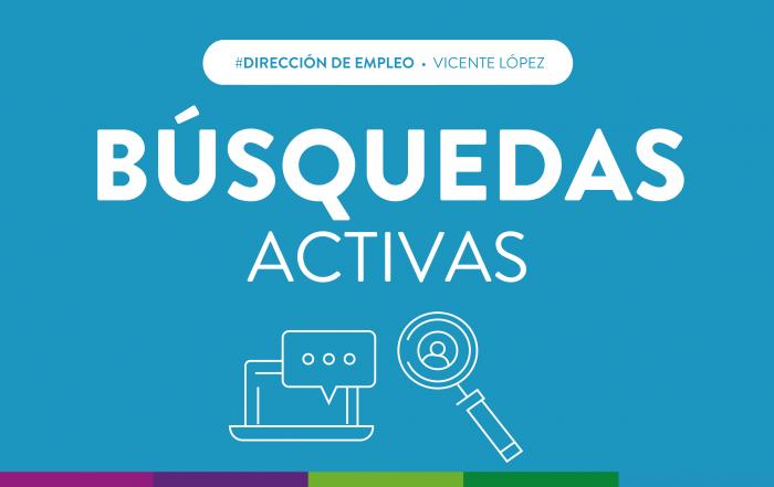#EmpleoVL ► ¡Postulate en las búsquedas activas!
