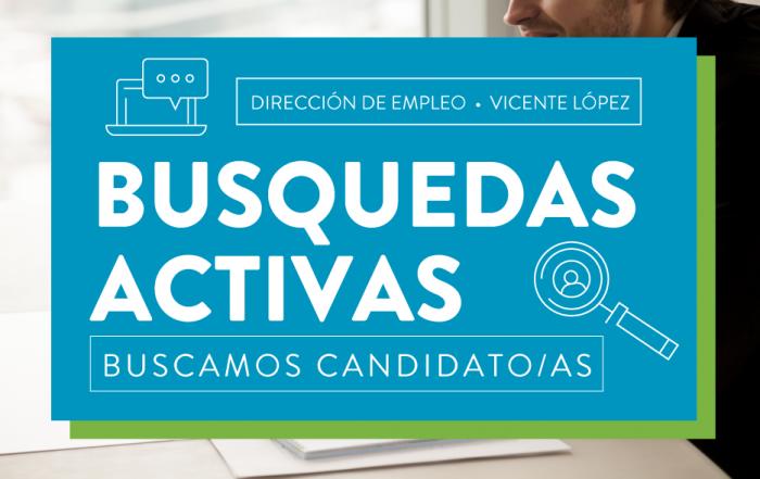 #EmpleoVL ► ¡Postulate en las búsquedas laborales!