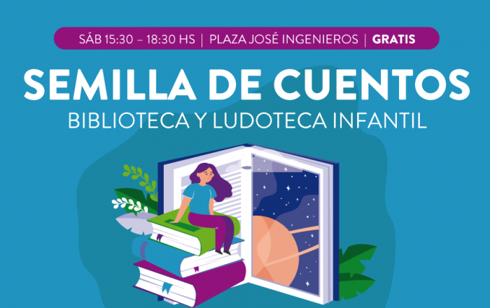 """Biblioteca y Ludoteca Infantil """"Semilla de Cuentos"""""""