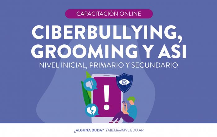#CapacitaciónDocente ► CIBERBULLYING, GROOMING Y ASI
