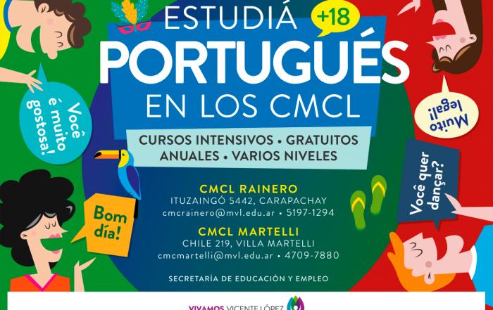¡Estudiá #Portugués en los CMCL!