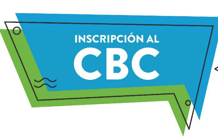 #Inscripción al CBC 2019