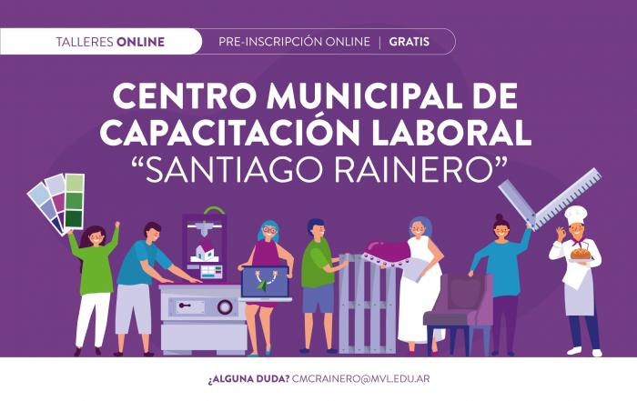 #Pre-inscripción2021 ► CURSOS #CMCL RAINERO