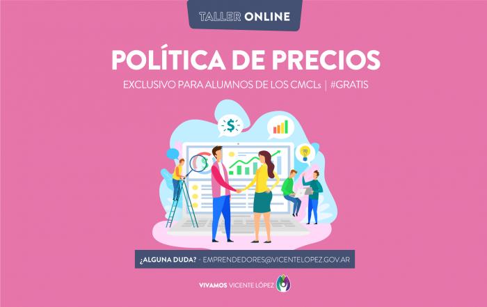 #AlumnosCMCLs ► Taller de política de precios