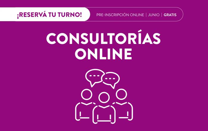 #Consultorías >> JUNIO