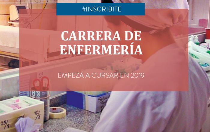 #InscripciónAbierta ► Carrera de Enfermería