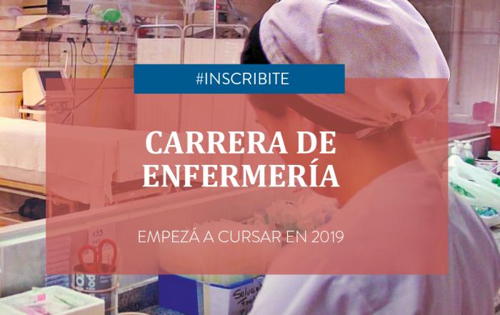 #Inscripción2019     Carrera de Enfermería