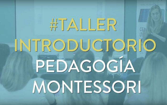 ¡Esto fue el curso intensivo sobre pedagogía #Montessori!