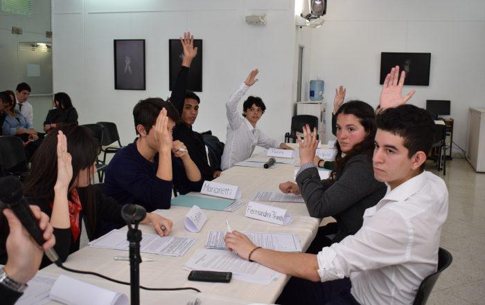 Parlamento de la Juventud 2017- Primer debate
