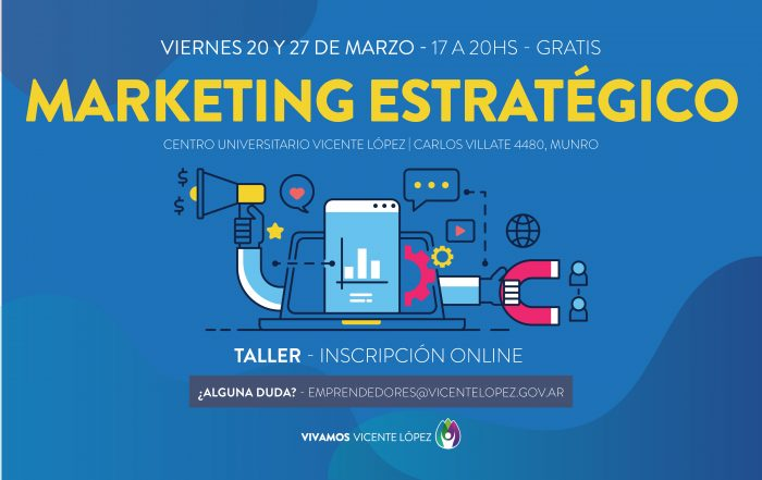 #CuposAgotados Taller ► MARKETING ESTRATÉGICO