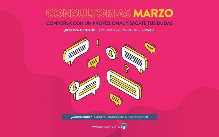 #Consultorías ► [ MARZO ]