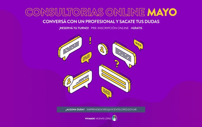 #Consultorías ► [ MAYO ]