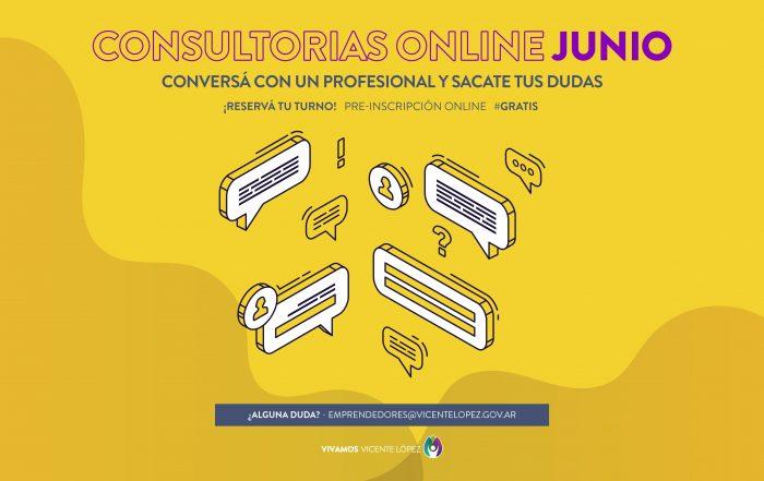 #ConsultoríasOnline ► [ JUNIO ]