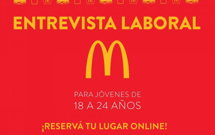 #Entrevistas en McDonald's para jovenes