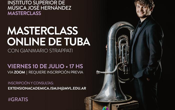 #MasterclassOnline ► Tuba con Gianmario Strappati