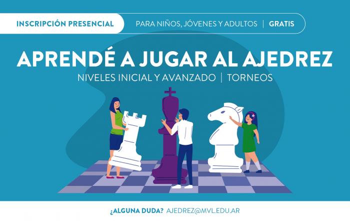 #Inscripción2021 ► ESCUELA DE AJEDREZ