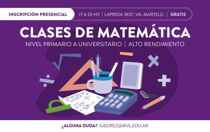 #Inscripción2021 ► ESCUELA DE MATEMÁTICA