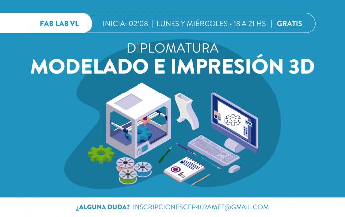 #Diplomatura ► MODELADO E IMPRESIÓN 3D