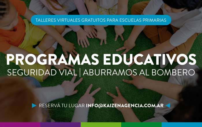 #TalleresOnline ► PROGRAMAS EDUCATIVOS