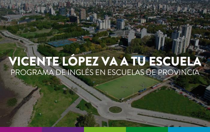 Vicente López va a tu escuela
