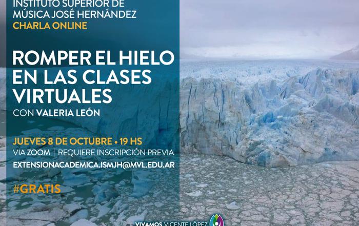 #Charla ► ROMPER EL HIELO EN LAS CLASES VIRTUALES