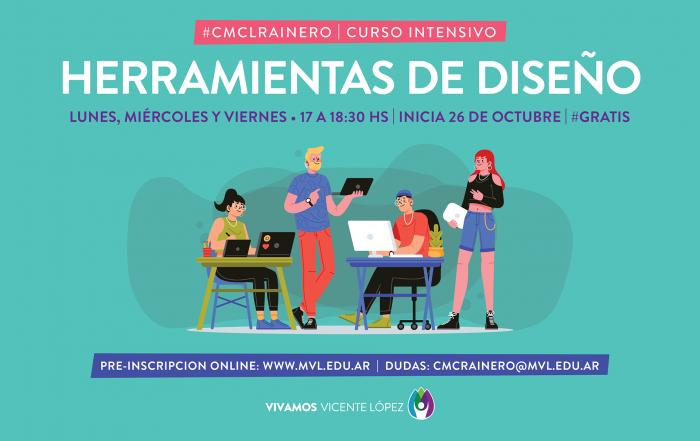 #Pre-InscripciónCMCLRainero ► HERRAMIENTAS DE DISEÑO