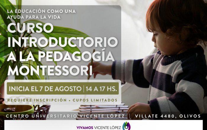 #CURSO - Introducción a la pedagogía Montessori: la educación como una ayuda para la vida