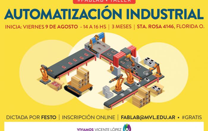#Taller ► Automatización Industrial  •  FAB LAB VL