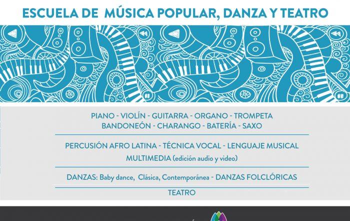 ¡Estudiá en nuestra Escuela de Música Popular!