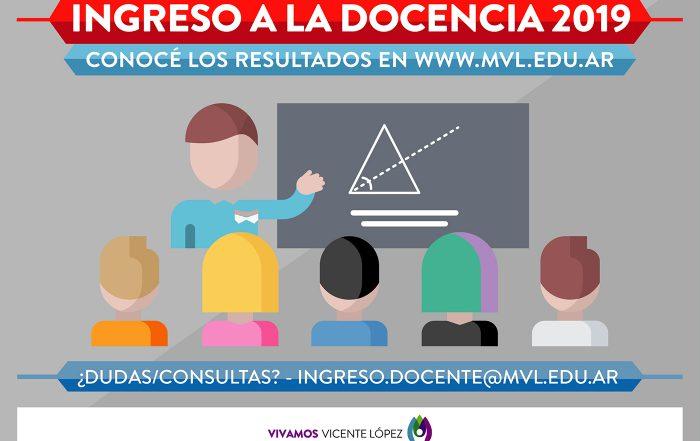 #ConocéLosListados  |  Ingreso a la Docencia 2019