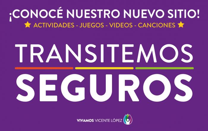 ¡CONOCÉ NUESTRO NUEVO SITIO DE #TRANSITEMOSSEGUROS!