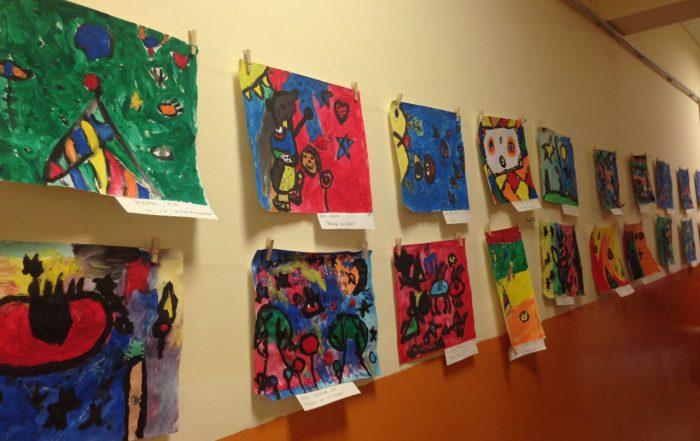 Muestra de Arte de la Escuela Primaria Municipal Manuel Dorrego