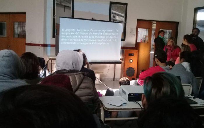 Los Corredores Escolares se presentan en la Secundaria 5