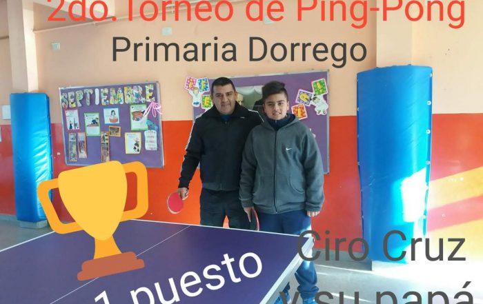 2do Torneo de ping-pong